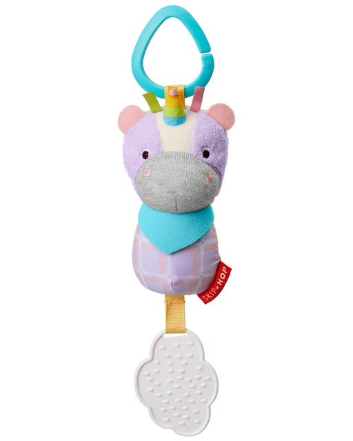 Bandana Buddies Chime & Teethe Toy, Unicorn - Preggy Plus