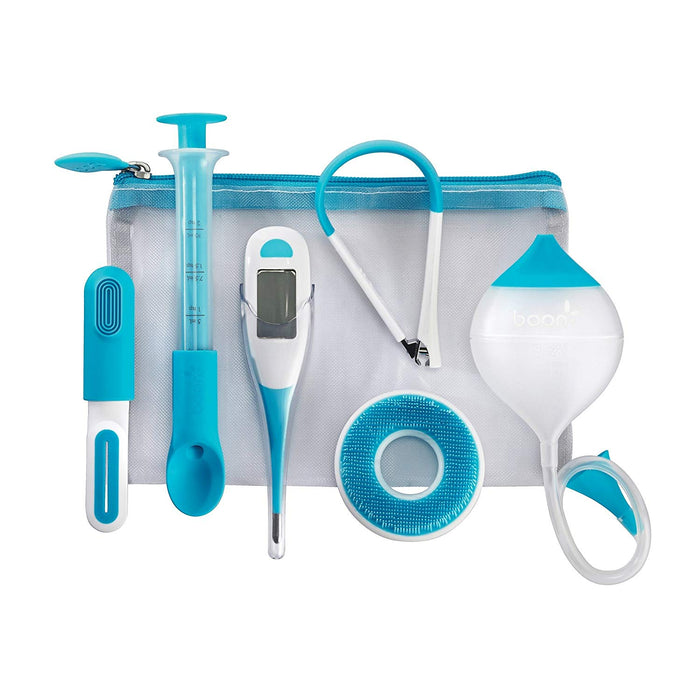 Boon Care Health and Grooming Kit, Blue, White - Preggy Plus