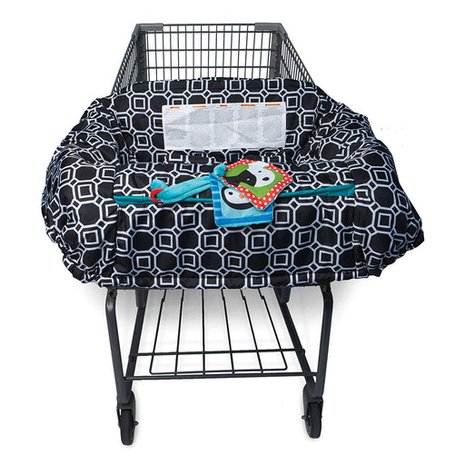 Boppy Shopping Cart/High Chair Cover - City Squares - Preggy Plus