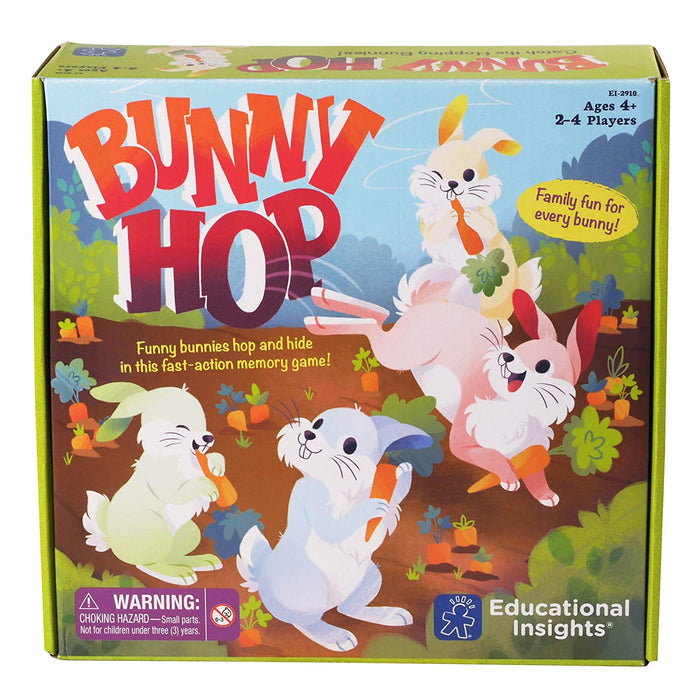 Educational Insights Bunny Hop Board Game - Preggy Plus