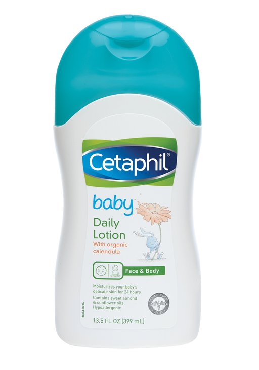 Cetaphil Baby Daily Lotion, 13.5 Fluid Ounce - Preggy Plus
