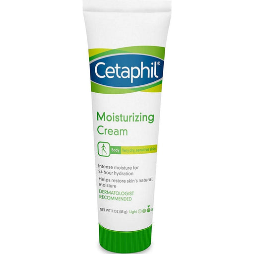 Cetaphil Moisturizing Cream, 3oz - Preggy Plus