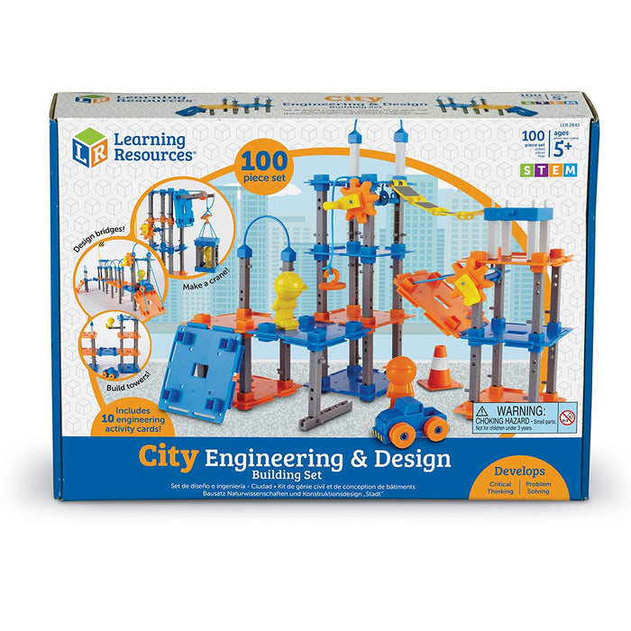 Learning Resources City Builder Engineering Set - Preggy Plus