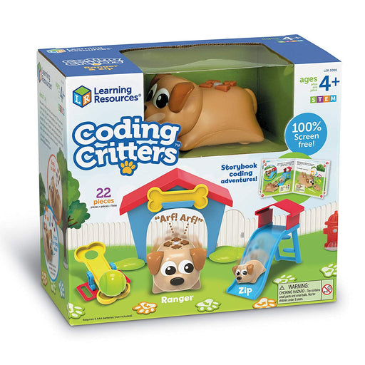Learning Resources Coding Critters: Ranger & Zip - Preggy Plus