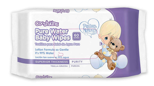 Precious Moments Sensitive Baby Wipes - 99% Pure Water Baby Wipes (1 pack - 60 ct) - Preggy Plus