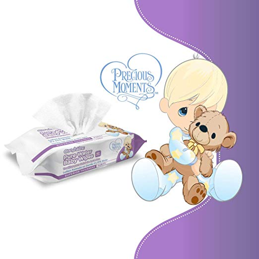 Precious Moments Sensitive Baby Wipes - 99% Pure Water Baby Wipes (10 pack - 600 ct) - Preggy Plus