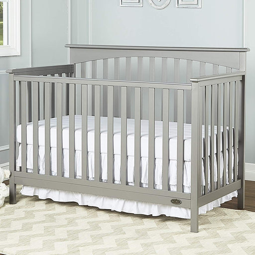 Dream On Me Davenport 5 in 1 Convertible Crib - Grey (6655-SG)