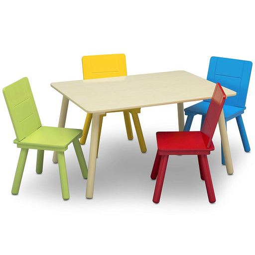 Delta Kids Table & 4 Chairs Set - Preggy Plus