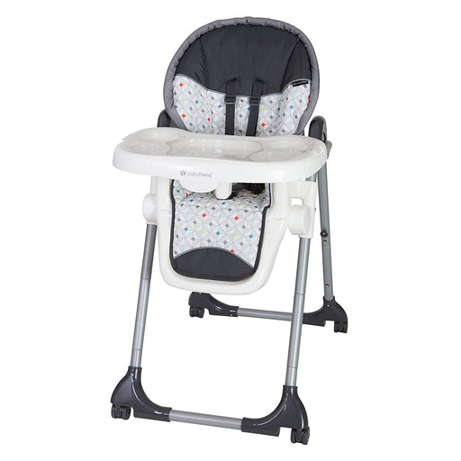 Baby Trend Deluxe 2 in 1 High Chair, Diamond Geo - Preggy Plus