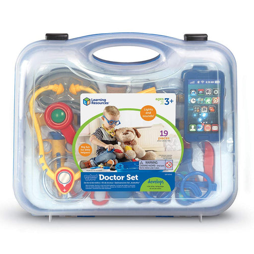 Learning Resources Pretend & Play Doctor Set - Preggy Plus