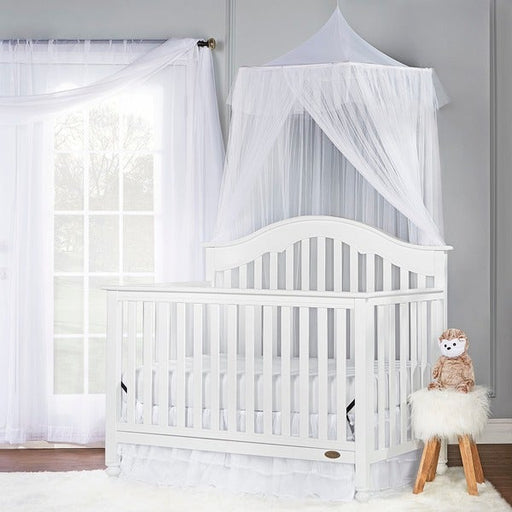 Dream On Me Charlotte 5 in 1 Convertible Crib - White (752-W)
