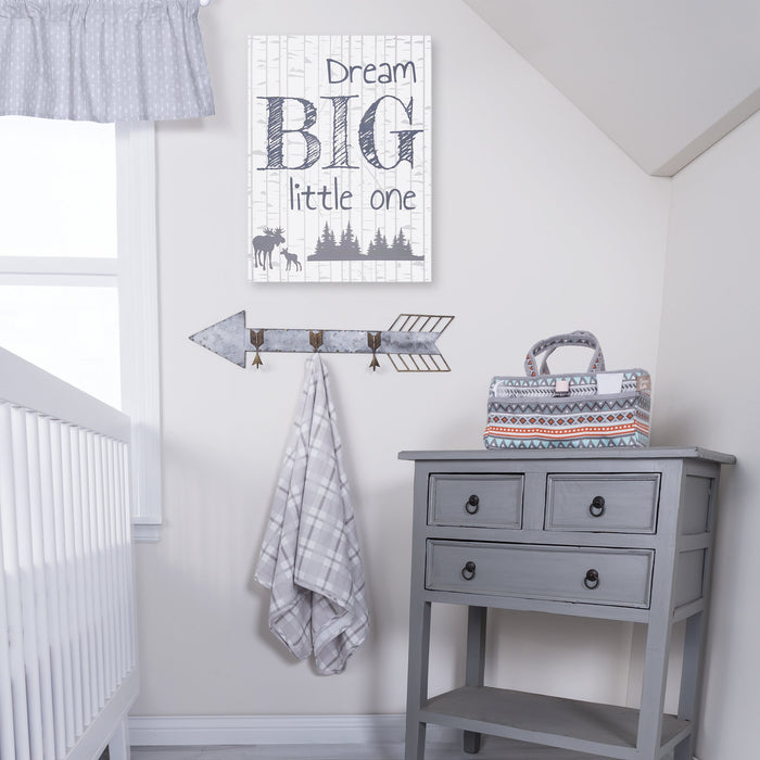 Trend Lab Canvas Wall Art -  Dream Big Little One - Preggy Plus