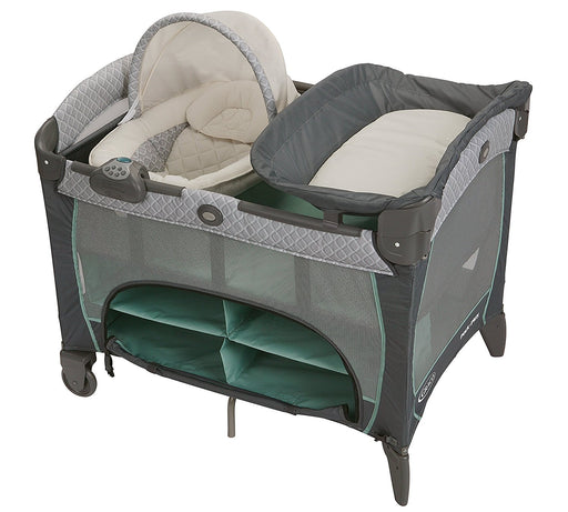 Graco Pack n Play DLX with Newborn Napper, Manor