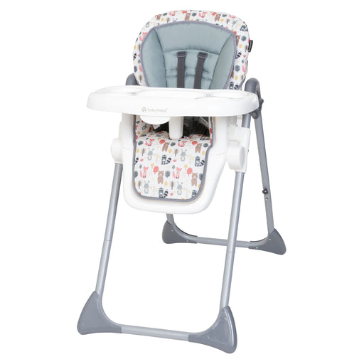 Baby Trend Sit Right High Chair, Forest Party
