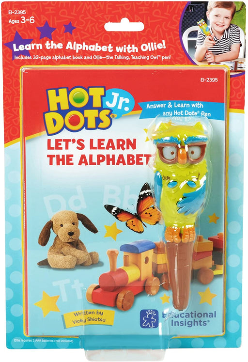 Hot Dots® Jr. Let's Learn the Alphabet Interactive Book & Pen Set - Preggy Plus