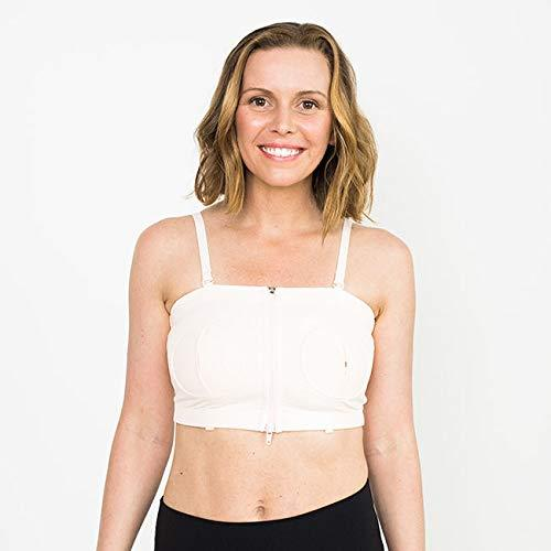 Lansinoh Simple Wishes® Hands-Free Pumping Bra, XS-L - Preggy Plus