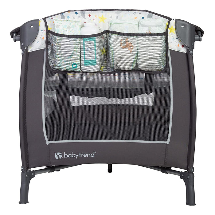 Baby Trend Lil Snooze Deluxe Nursery Center, Twinkle Twinkle Little Moon - Preggy Plus