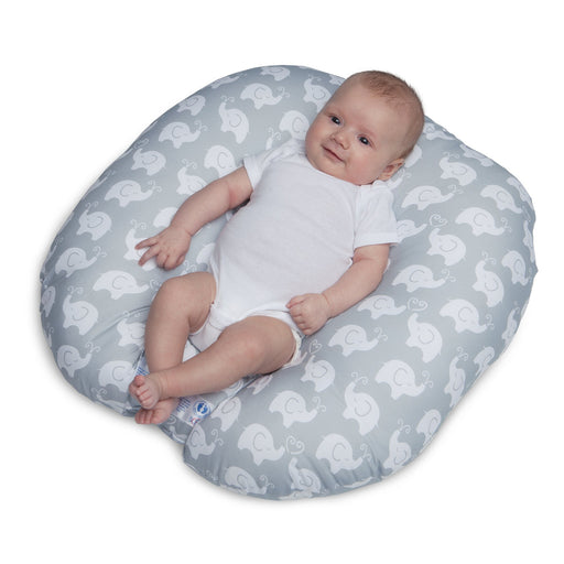 Boppy Newborn Lounger - Elephant Love Grey