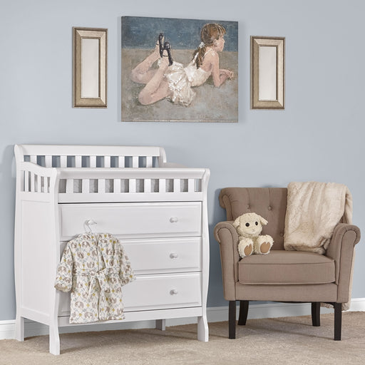 Dream on Me Marcus Changing Table & Dresser, White