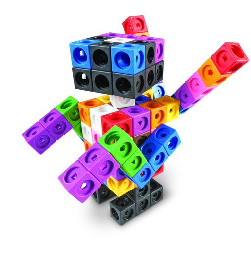 Educational Insights MathLink® Cubes Big Builders - Preggy Plus