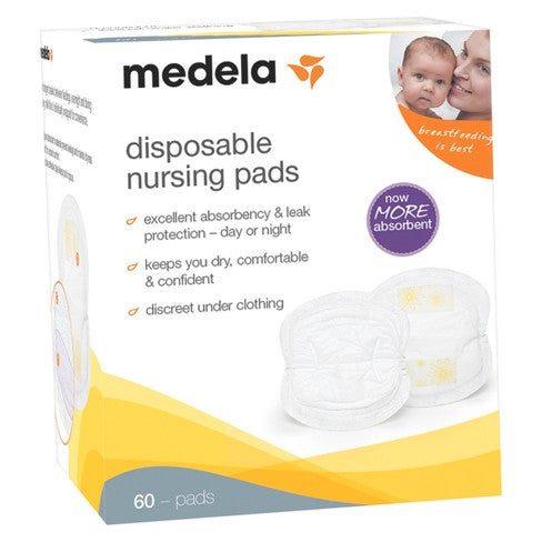 Medela's Disposable Nursing Pads (60ct)