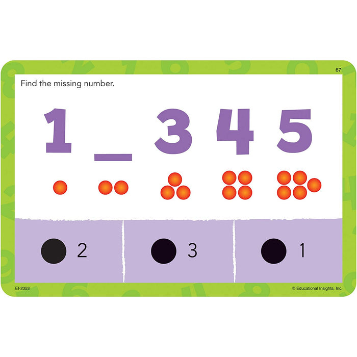 Educational Insights Hot Dots Jr Cards - Numbers & Counting - Preggy Plus