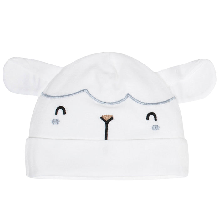 Gerber Neutral Caps - Sheep (2pk), Newborn - Preggy Plus