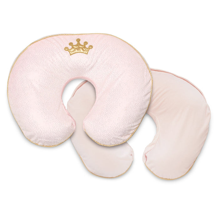 Boppy Luxe Nursing Pillow and Positioner, Pink Royal Princess - Preggy Plus