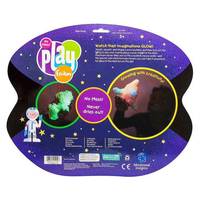 Educational Insights Playfoam Glow in the Dark 🌟 8 Pack - Preggy Plus