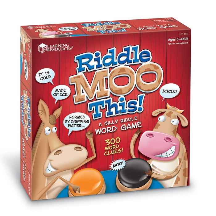 Learning Resources Riddle Moo This - Preggy Plus