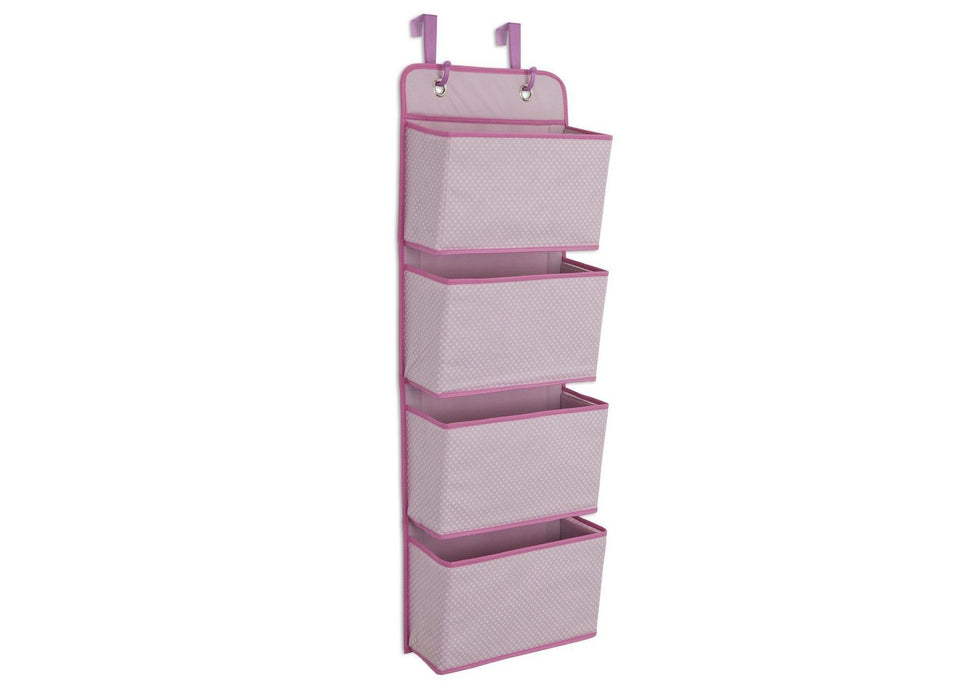 Delta 4-Pocket Hanging Wall Organizer, Barely Pink - Preggy Plus