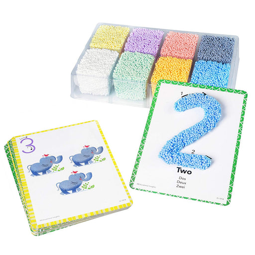 Shape & Learn Numbers Playfoam Set - Preggy Plus