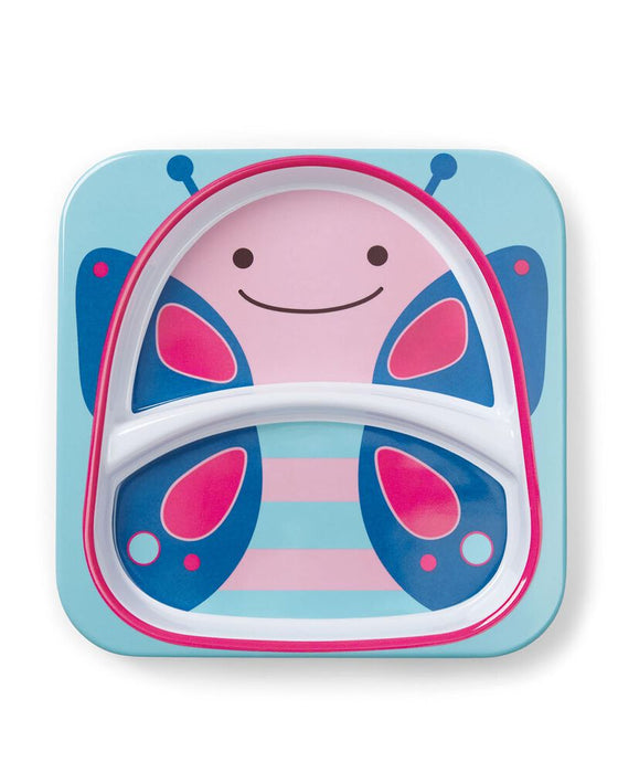 Skip Hop Zoo Smart Divided Plate, Butterfly - Preggy Plus
