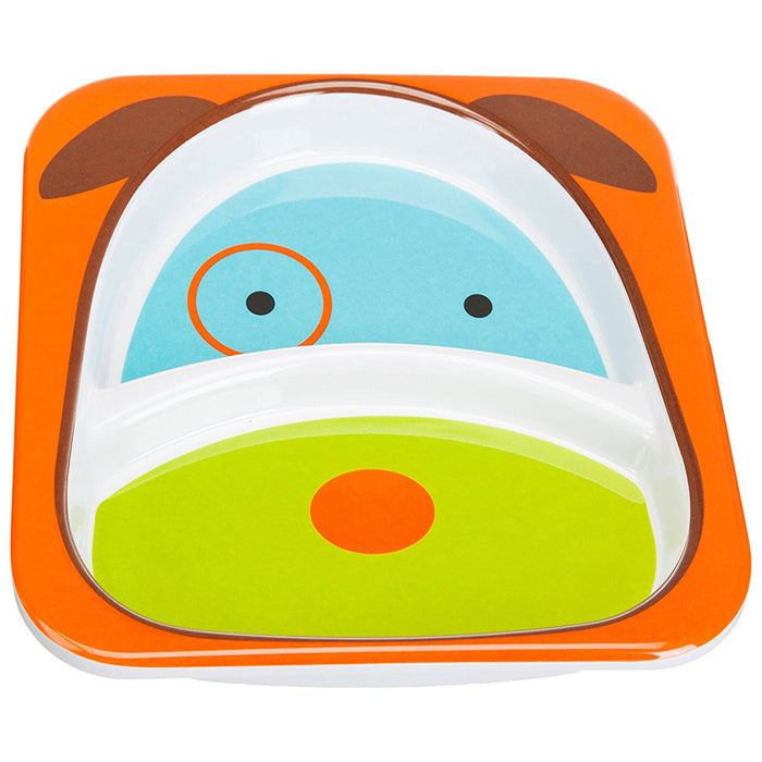 Skip Hop Zoo Smart Divided Plate, Dog - Preggy Plus