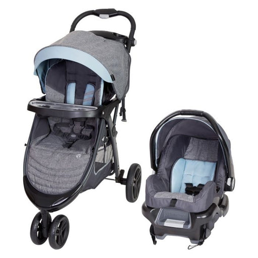 Baby Trend Skyline 35 Travel System, Starlight Blue - Preggy Plus