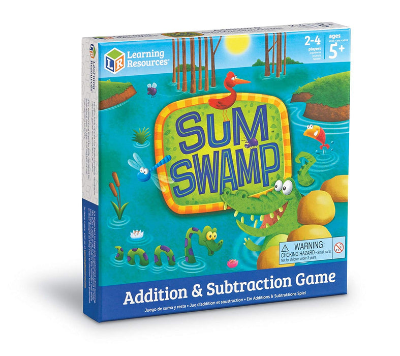 Learning Resources Sum Swamp Addition & Subtraction Game - Preggy Plus