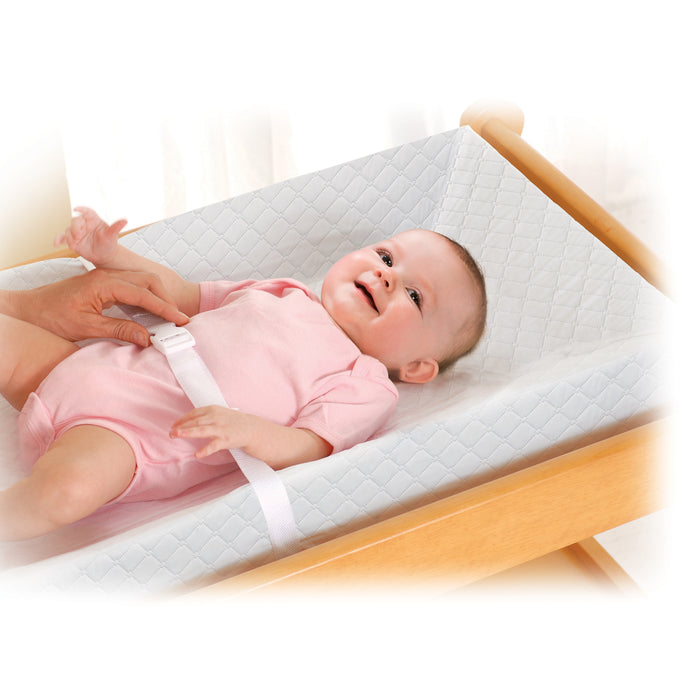 Summer Infant 4 Sided Changing Pad, White - Preggy Plus