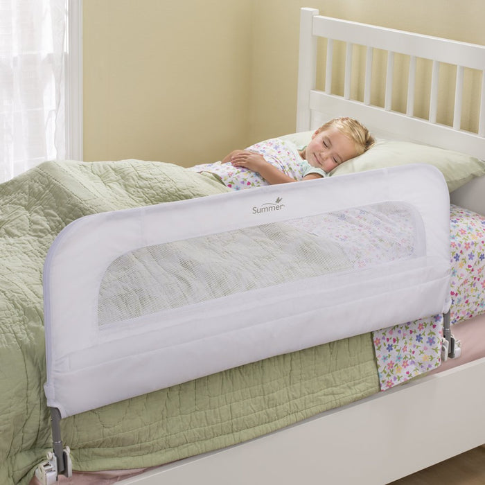 Summer Single Fold Safety Bedrail, White - Preggy Plus