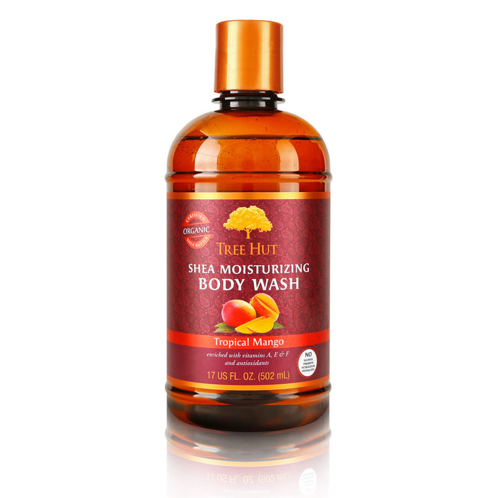 TH Shea Moisturizing Body Wash, Tropical Mango 17oz - Preggy Plus