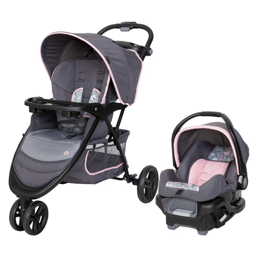 Baby Trend EZ Ride Travel System, Flutterbye - Preggy Plus