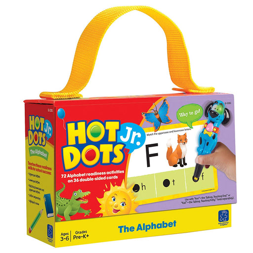 Educational Insights Hot Dots Jr Cards - The Alphabet - Preggy Plus