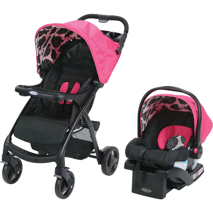 Graco Verb Click Connect Travel System - Azalea - Preggy Plus