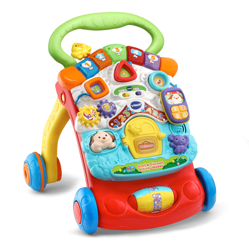 VTech Stroll & Discover Activity Walker - Preggy Plus