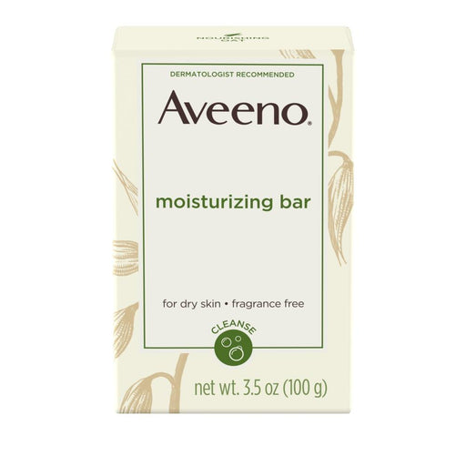 Aveeno Moisturizing Facial Cleansing Bar - Preggy Plus