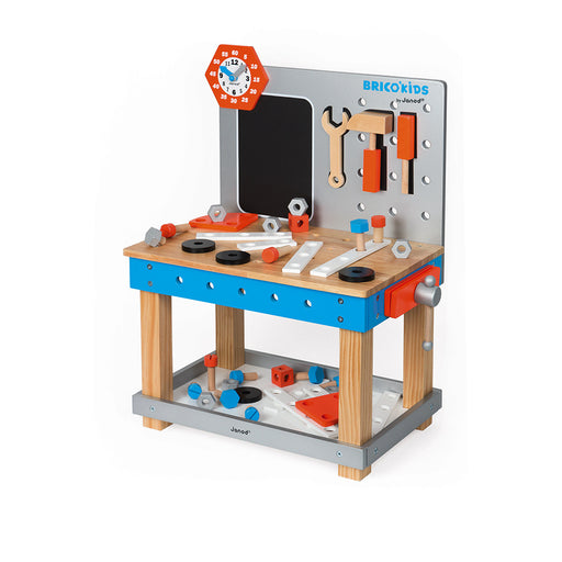 Janod Brico'Kids DIY Giant Magnetic Workbench (Wood) - Preggy Plus