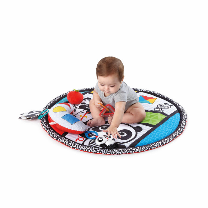 Baby Einstein Bold New World High Contrast Playmat, Newborns and up - Preggy Plus