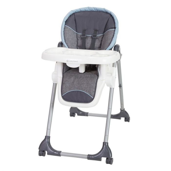 Baby Trend Dine Time 3-in 1 High Chair, Starlight Blue - Preggy Plus