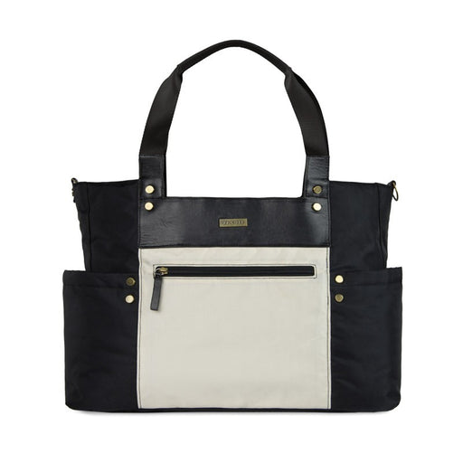 JJ Cole Arrington Diaper Bag - Onyx & Ivory - Preggy Plus