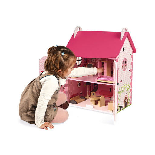 Janod Mademoiselle Doll's House (Wood) - Preggy Plus