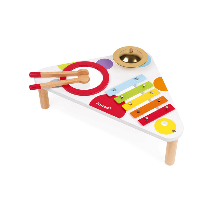 Janod Confetti Musical Table (Wood & Metal) - Preggy Plus
